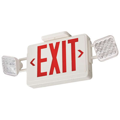Exit Sign & Light Combinations