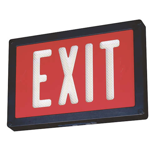 Self-Luminous Exit Signs