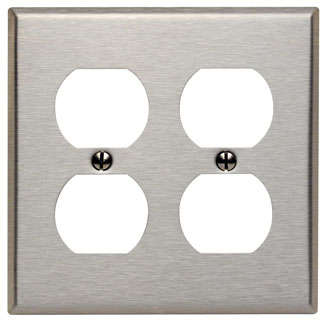 Duplex Receptacle Plates
