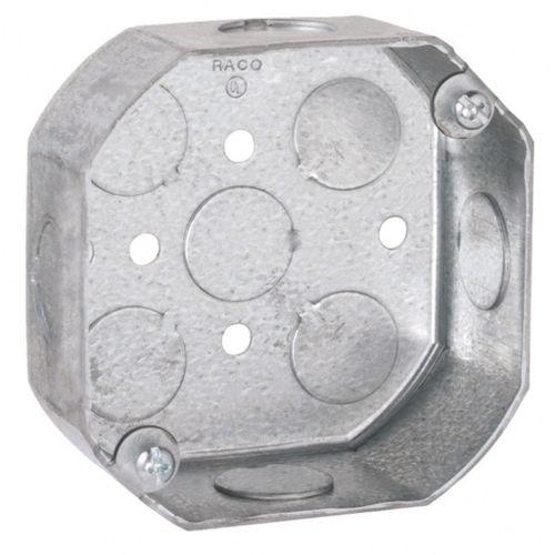 Metallic Octagon/Round Boxes