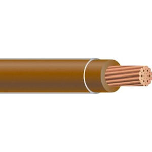 THHN 10 AWG 19 Strand Copper Brown 2500 Foot Reel Cable