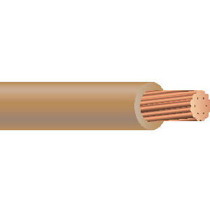 THHN 14 AWG 19 Strand Copper Tan 500 Foot Reel Cable