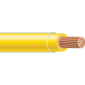 THHN 3 AWG 19 Strand Copper Yellow Master Reel Cable
