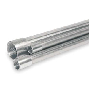 1-1/4 Inch Aluminum Rigid Conduit, 10 Foot