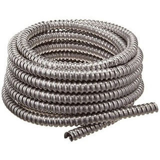 1-1/2 Inch Aluminum Flex Conduit, 25 Foot Coil