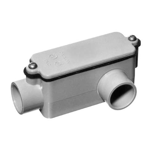 1-1/4 Inch PVC Type LL Conduit Body