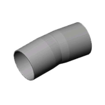 "Carlon E244RF 6"" PVC 5deg Angle Coupling (Bell x Spigot)"