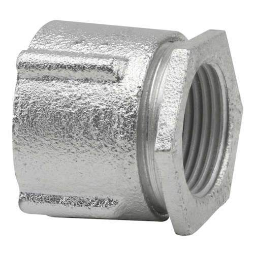 Crouse-Hinds Series 199 4 Inch Malleable Iron Threaded 3-Piece Rigid Conduit Coupling