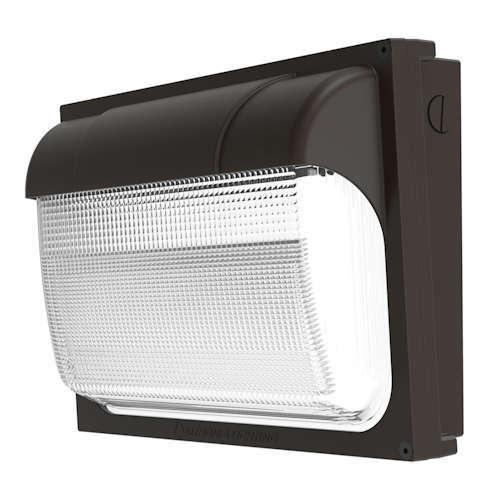 Lithonia TWX2-LED-ALO-40K-MVOLT-DDBTXD LED Wall Luminaire, Adjustable 1450-6850 Lumens, 4000K, 120-277V, Textured Dark Bronze