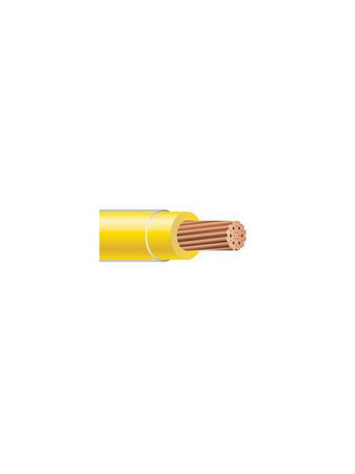 THHN 14 AWG Solid Copper Yellow Cable (2500ft Reel)