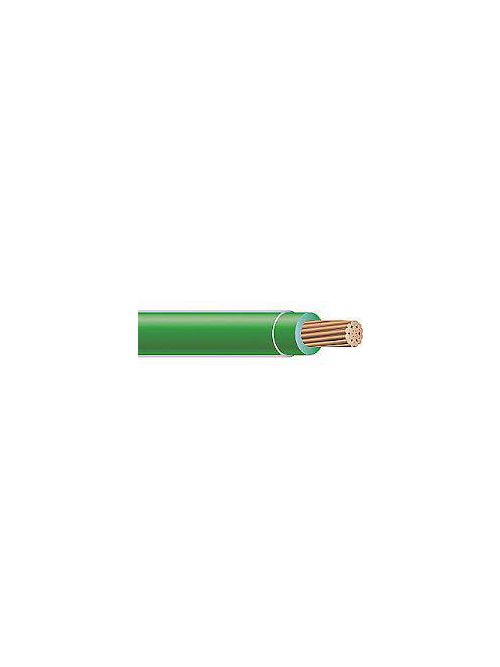THHN 4 AWG 19 Strand Copper Green Cable (1000ft Reel)