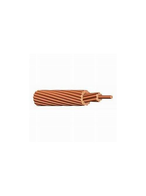 Bare Soft Drawn #8 AWG 7-Stranded Copper