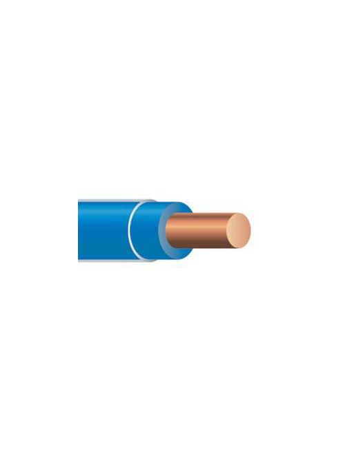 THHN 10 AWG Solid Copper Blue Cable (2500ft Reel)