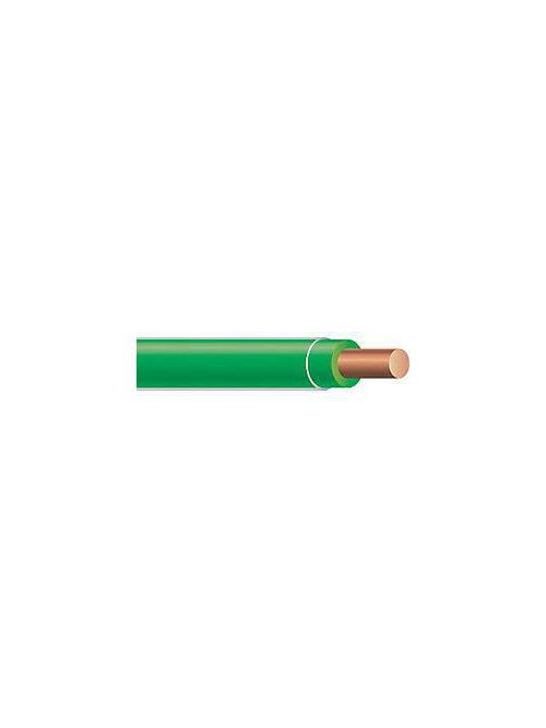 THHN 10 AWG Solid Copper Green Cable (2500ft Reel)