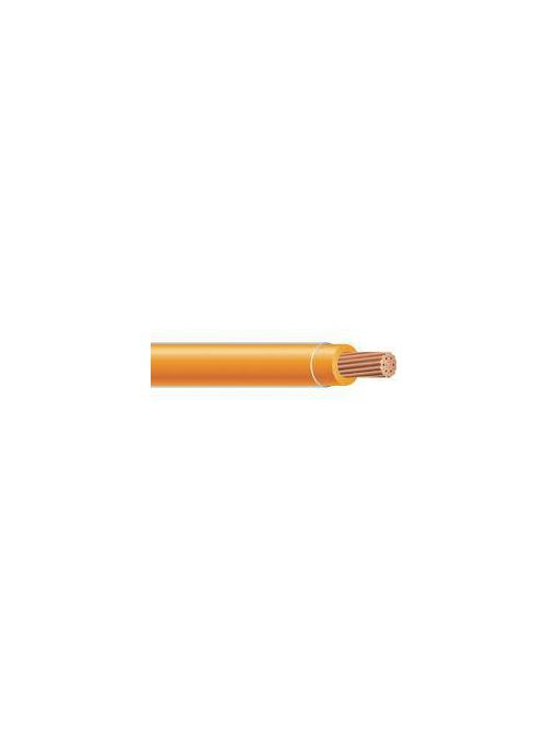THHN 6 AWG 19 Strand Copper Orange Cable (1000ft Reel)