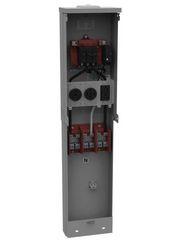 Unmetered Power Outlet Pedestals
