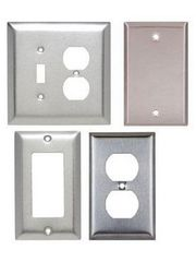 Stainless Steel Wall Plates