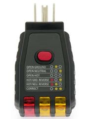 GFCI/Receptacle Circuit Testers