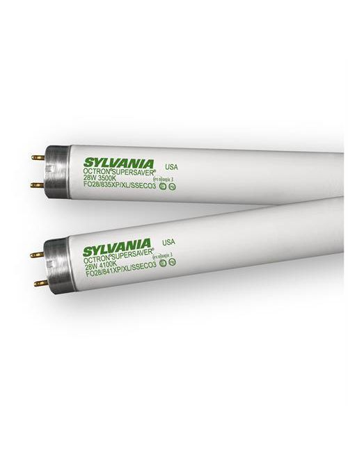 Sylvania 21021 54 W 85 CRI 4100 K 4850 lm Coated Miniature Bi-Pin Base T5 Fluorescent Lamp
