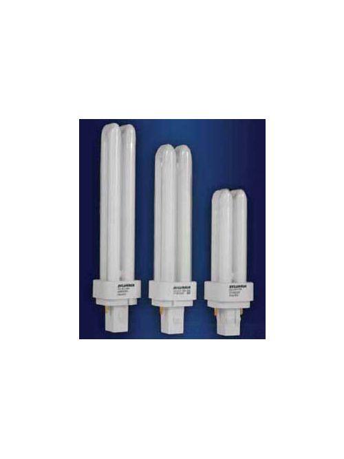 Sylvania 21116 26 W 82 CRI 3000 K 1800 lm GX24Q-3 Base 2-Pin Double Compact Fluorescent Lamp