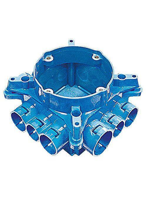 Carlon A863CFG ENT Mud Box w/ Ceiling Ring & Ground Lug