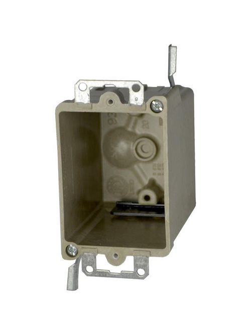 """Allied Moulded 9363-EWK 16.0"""" Ears Speed Clamp Old Work Outlet Box"""