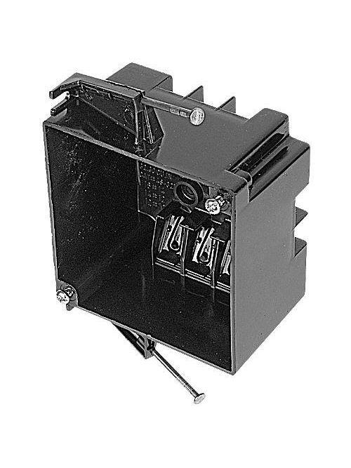 Carlon 4S-32-N 4 x 4 x 3-3/16 Inch 2-Gang Polycarbonate Square Outlet Box