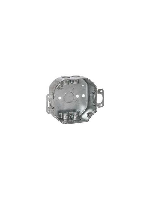 Raco 150 4 x 1-1/2 Inch 15.5 In Steel Octagon Outlet Box