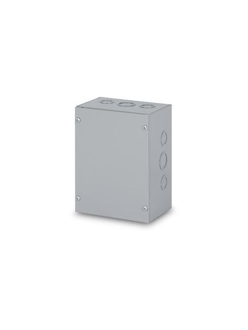 Austin AB-18186SB 18 x 18 x 6 Inch N1 Galvanized Box with Screw Cover
