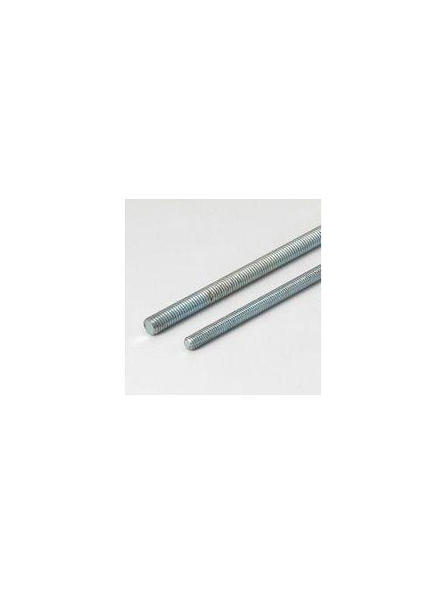 Eaton B-Line ATR, 3/8X120 ZN 16 Thread 120 Inch Length Zinc Plated Rod