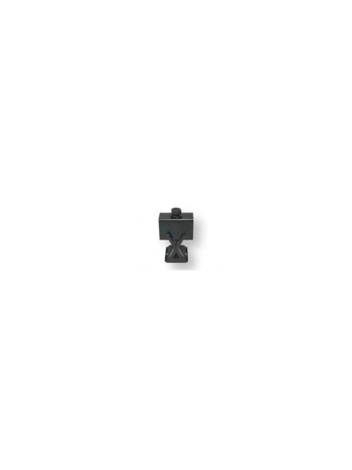 SNAPNRACK 242-02067 ADJUSTABLE END CLAMP 1.2-IN TO 1.48-IN BLACK