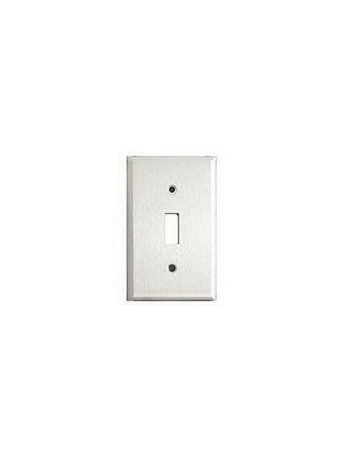 Eaton Wiring Devices 97071 1-Gang 302/304 Stainless Steel Toggle Switch Wallplate