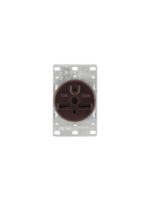 EWD 1234-BOX Recp Single Flush 30A