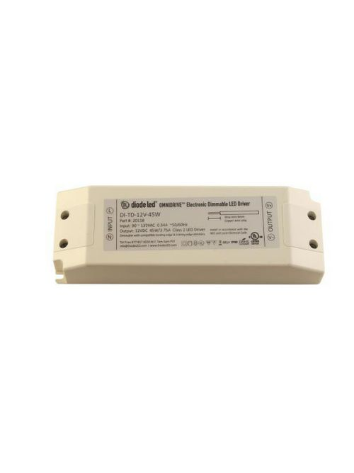DIODE DI-TD-24V-45W 24V OMNIDRIVEELECTRIC DIMMABLE DRIVER 45W