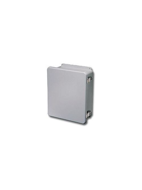 Stahlin (RobRoy) J808HPL 9.56 x 9.38 x 4.87 Inch NEMA 4X Fiberglass Hinged Cover Junction Box