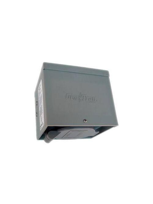 Generac 6339 20 Amp 125/250 Volt NEMA L14-20 Raintight Resin Power Inlet Box with Spring Loaded Flip Lid