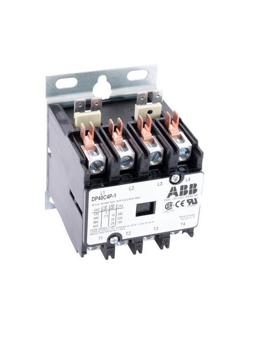 ABB DP40C4P-1 DP CONTR,40A,4P,120/6
