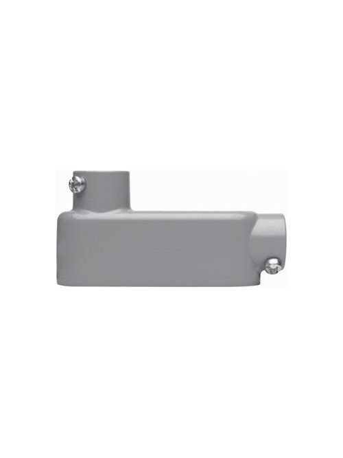 Crouse-Hinds Series LB75 2-1/2 Inch Die-Cast Aluminum Type LB Rigid/IMC Conduit Body