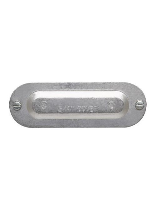 Crouse-Hinds Series 450 1-1/4 and 1-1/2 Inch Die-Cast Aluminum Conduit Body Cover