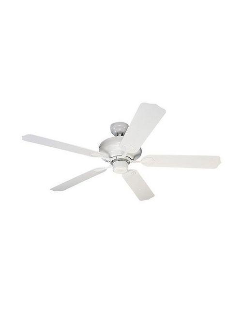 Sea Gull Lighting 1540-15 52 Inch 210 RPM 5501.61 CFM 62.3 W White ABS Resin 5-Blade Ceiling Fan