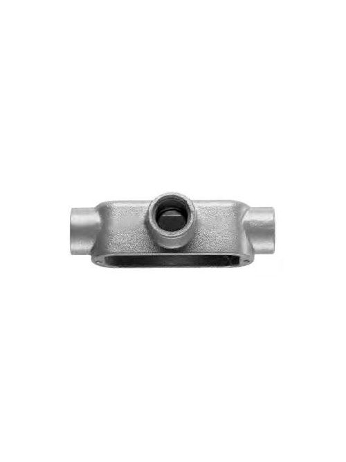 Crouse-Hinds Series T75M 3/4 Inch Malleable Iron Form5 Type T Threaded Rigid Conduit Body