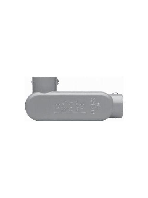 Crouse-Hinds Series LR55 1-1/2 Inch Die-Cast Aluminum Type LR Rigid/IMC Conduit Body