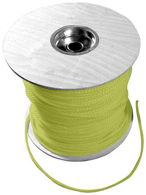 CUL 67818 YELLOW POLY ROPE 1/4X1200