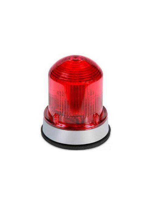 Edwards Signaling 125STRNR120AB 120 VAC 0.1 Amp Red Polycarbonate Flashing Xenon Strobe Beacon