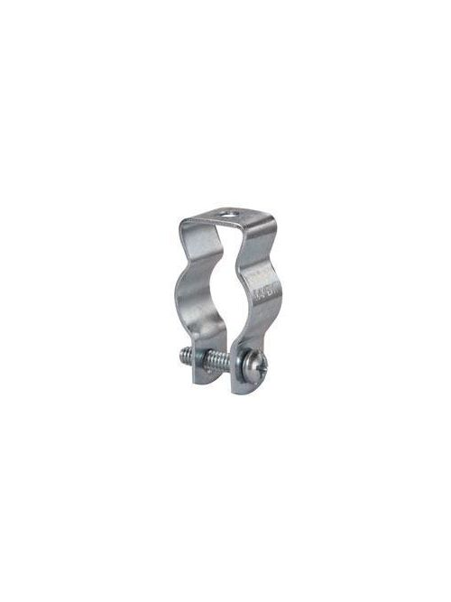 Crouse-Hinds Series 0B 3/8 and 1/2 Inch Steel Rigid/EMT Conduit Hanger with Bolt