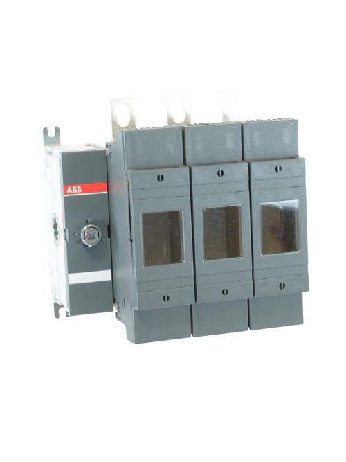 ABB OS200J03 200 Amp 600 Volt 3-Pole Din Rail Mount Front Operated Fusible Disconnect Switch