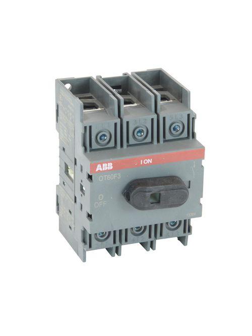 Thomas & Betts OT60F3 600 VAC 60 Amp 3-Pole Open Non-Fusible Disconnect Switch