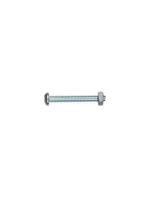 Fastening Specialists, Inc. 15052 8-32 x 1-1/4 Inch Round Head Machine Screw