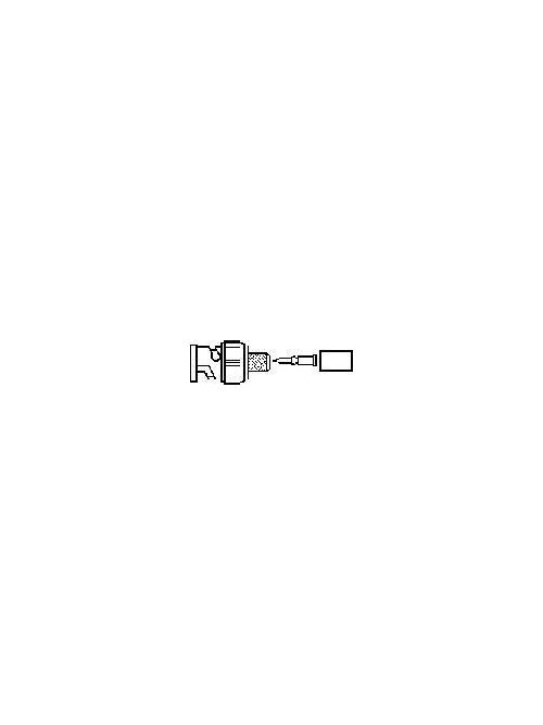 Ideal Industries 85-491 RG58 50 Ohm PVC BNC Plug