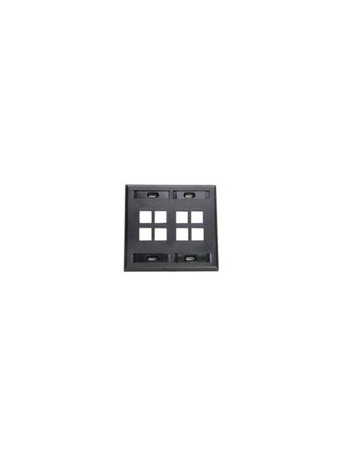 LEV 42080-8EP WP 8PORT DG ID BK